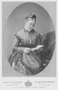 Cabinet Card Princess Victoria of England, Empress Frederick of Germany by Hills & Saunders From the lost gallery's photoshop on flickr desmudge X 1.5 detint