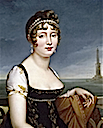 Caroline Murat before the Bay of Naples by François-Pascal-Simon Gérard (Fondation Dosne-Thiers, Paris)