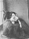 1856-1857 photo of the Countess of Castiglione