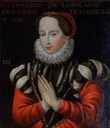 Catherine de Lorraine-Guise, duchesse de Mantoue et de Nevers by ? (location ?) From the lost gallery's photostream on flickr