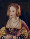 Catherine of Aragon by ? (location ?) From Pinterest search decrack inc. shadows