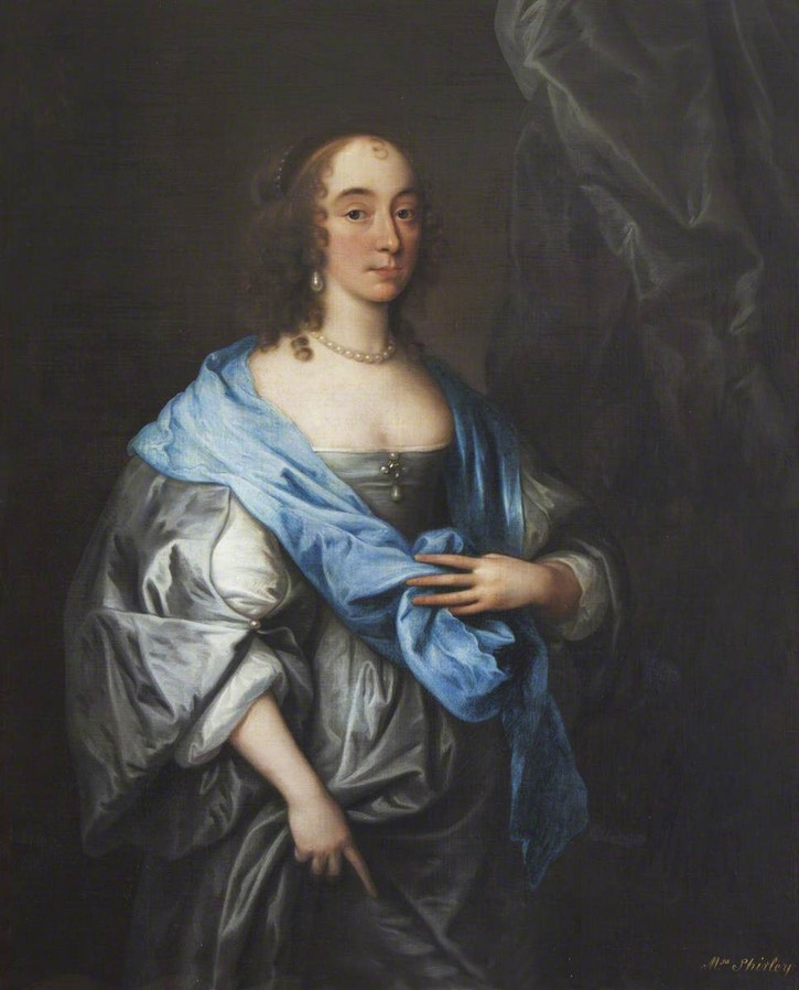 Catherine Okeover (d.1672), Lady (Robert) Shirley