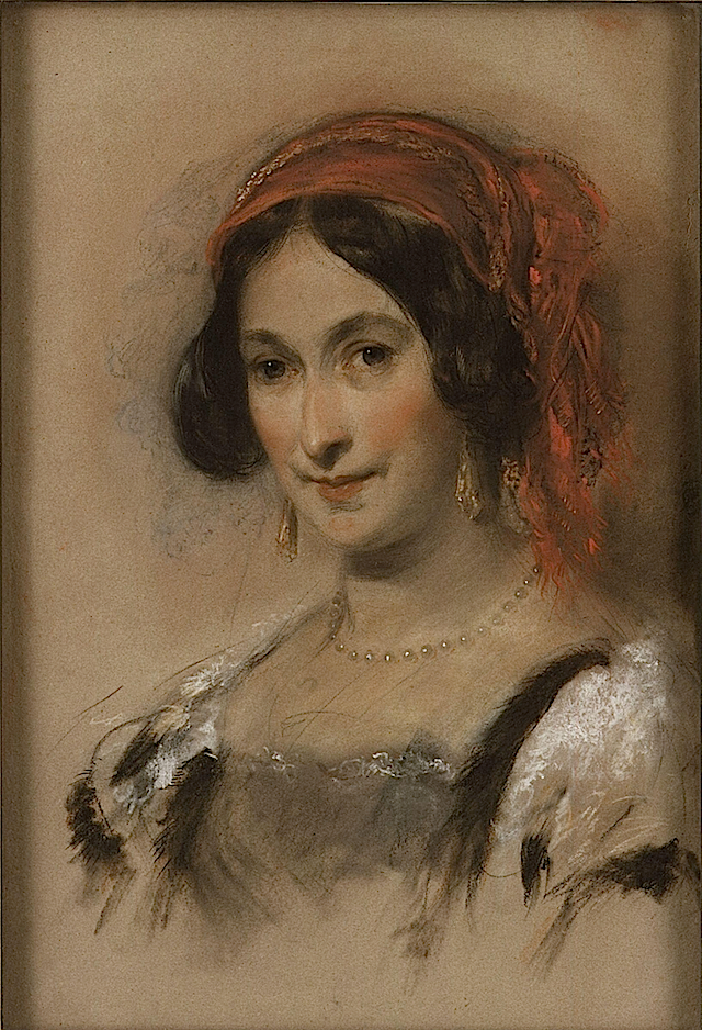 Catherine, Lady Stepney by John Hayter (National Portrait Gallery - London UK)