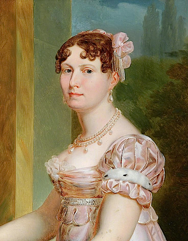 Catherine of Würtemberg, Wife of Jerome Bonaparte, King of Westphalia by Francois Joseph Kinsoen (Bowes Museum - Barnard Castle, Durham UK)