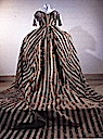 1790s Court dress worn by Maria Feodorovna from the back