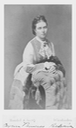 CDV Victoria, Princess Royal Empress Frederick of Germany by Mondel & Jacob eBay removed monocolor tint increased exposure