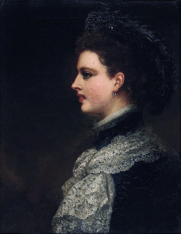 Charlotte, Countess Spencer (1835-1903) by Louis William Desanges (auctioned)