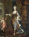 ca. 1700 Charlotte Desmares, dite Lolotte by Pierre Gobert (auctioned by ?) From kolybanov.livejournal.com:10102467.html