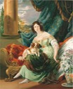 1830 Charlotte, Countess de la Bourdonnaye by Sir George Hayter (auctioned)