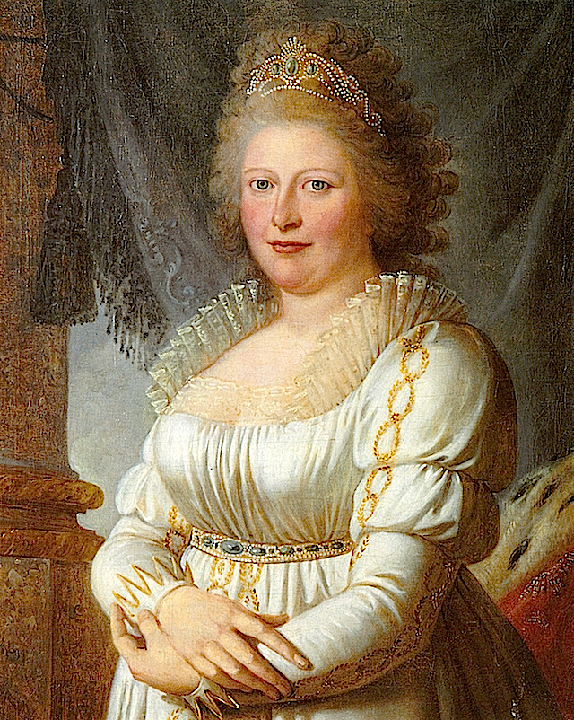 Charlotte Mathilde von England by ? (private collection) Wp