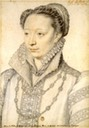 1565 (or later based on date of marriage to the Duc de Retz) Claude Catherine de Clermont, duchesse de Retz by ? (Bibliothèque nationale de France, Paris France)