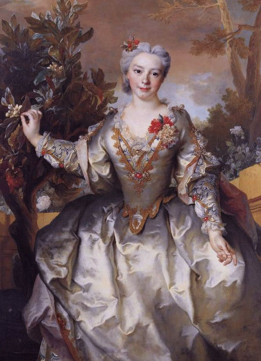 Comtesse de Montchal by Nicolas de Largillière (location unknown to gogm)