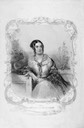 Corisande Emma Harris, née Bennet Countess of Malmesbury Emiment People Print by ?