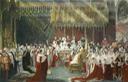Coronation scene engraved by H. T. Ryall after a painting by Sir George Hayter