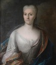 Countess Cosel, mistress of August I of Poland late in her life and exile by ? (Stolpen Castle - Stolpen Germany)