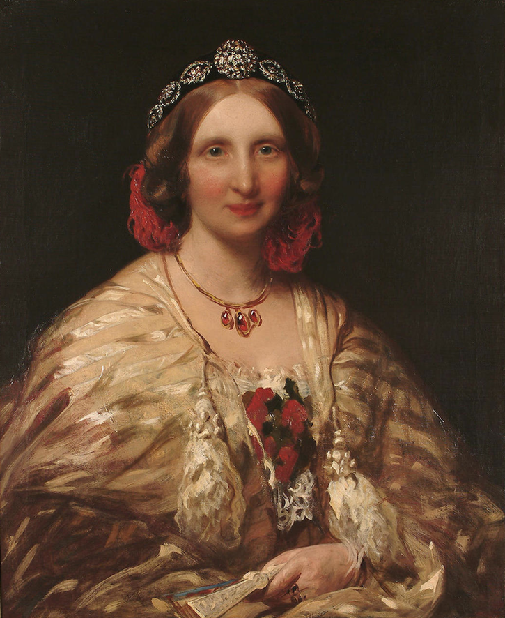 Countess of Clarendon by James Sant (auctioned by Bonhams)b