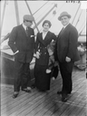 Countess Stavra aboard ship