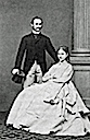Crown Prince Frederick, later Frederick VIII, of Denmark and Princess Louise of Sweden