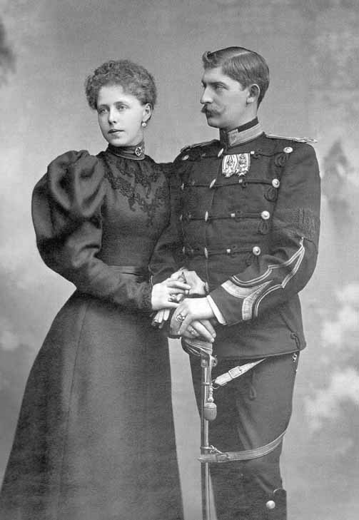--Crown Prince & Princess of Romania detint