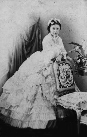 Middle 1860s (estimated) Crown Princess Victoria