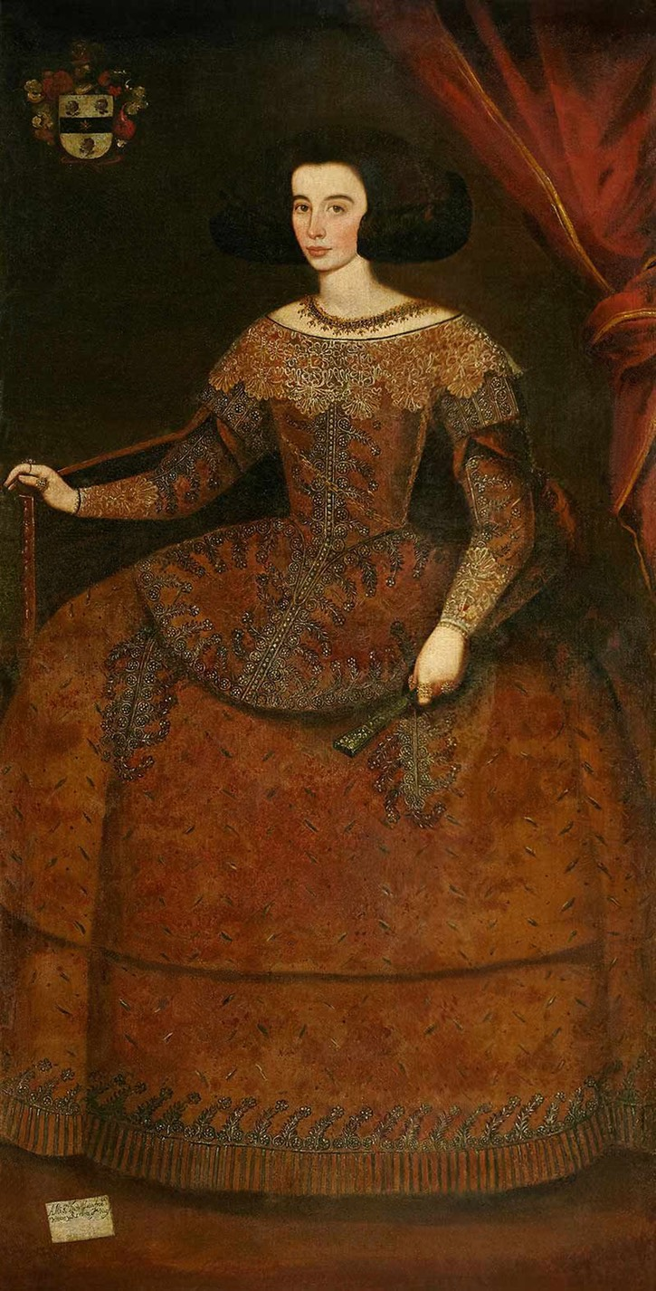 Doña Luisa Francisca de Neve, daughter of Miguel de Neve by ? (auctioned by Alcalá Subastas) From pinterest.com:source:alcalasubastas.es: via pinterest.com:louis or:guardainfante: despot