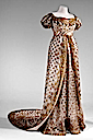 1810 Dress worn to the wedding of Napoleon Bonaparte and Marie-Louise (Musée d'Eckmühl - Auxerre, Yonne department France)