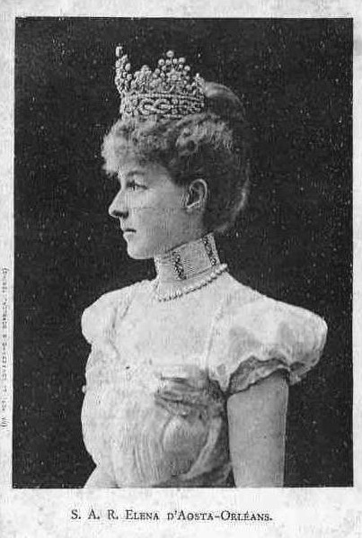 Duchess Elena Of Aosta Orleans From Miss Mertens