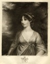 Duchess of Rutland, Elizabeth Howard, daughter of Frederick Howard, 5th Earl of Carlisle, wife of John Manners, 5th Duke of Rutland by Charles Wilkin after John Hoppner