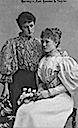 Duchess Marie José and her youngest daughter Duchess Marie Gabrielle