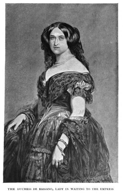 Duchess of Bassano black and white image