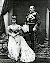 1896 Princess and Prince of Wales photo by Gunn & Stuart