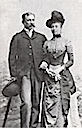 Marie and her father the Duke of Chartres