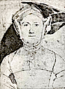 Eleanor Brandon, daughter of Princess Mary Tudor, Maternal Aunt of Jane Grey by ? (location unknown to gogm)
