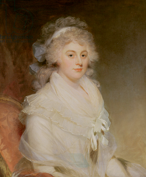 Elizabeth Beauclerk by William Beechey (private collection) From bridgemanimages.com