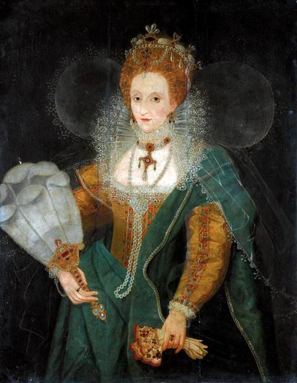Elizabeth I after Marcus Gheeraerts the Younger (auctioned by Sotheby's) From lusby1's photostream on flickr