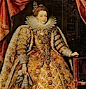 Elizabeth of France by Frans Pourbus (location unknown to gogm)