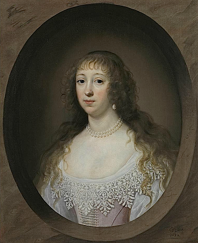 Elizabeth Tryon, wife of John Huxley by Cornelis Jonson (or Johnson) van Ceulen (private collection) Richard Green