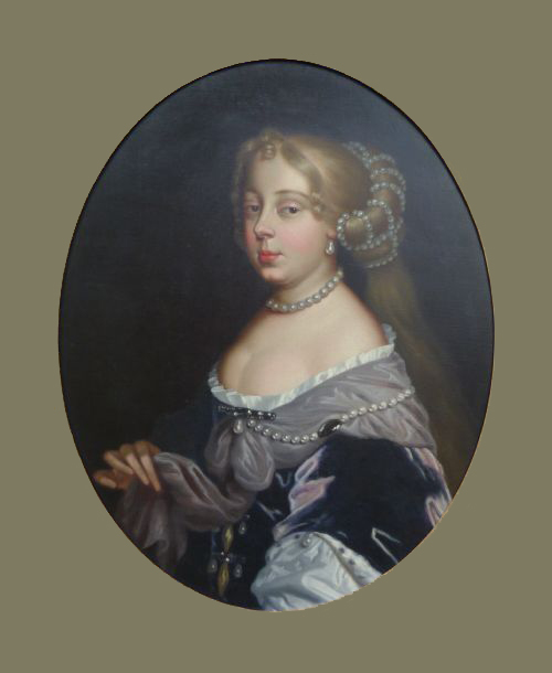 ca. 1670 Elizabeth Wilmot, Countess of Rochester by a follower of Sir Peter Lely Roy Precious Antiques and Fine Art