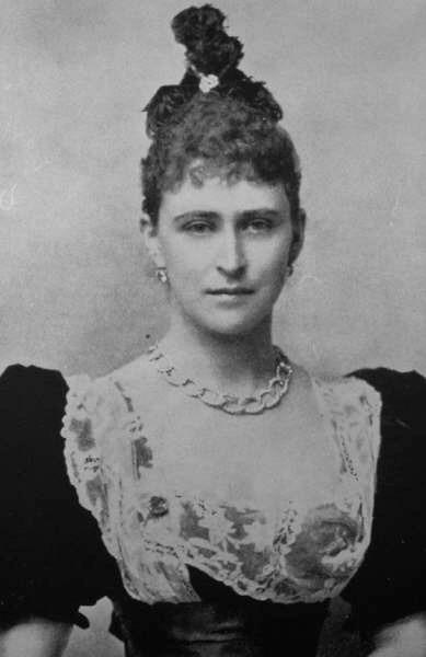 1895 Ella Of Hesse With Headdress Grand Ladies Gogm