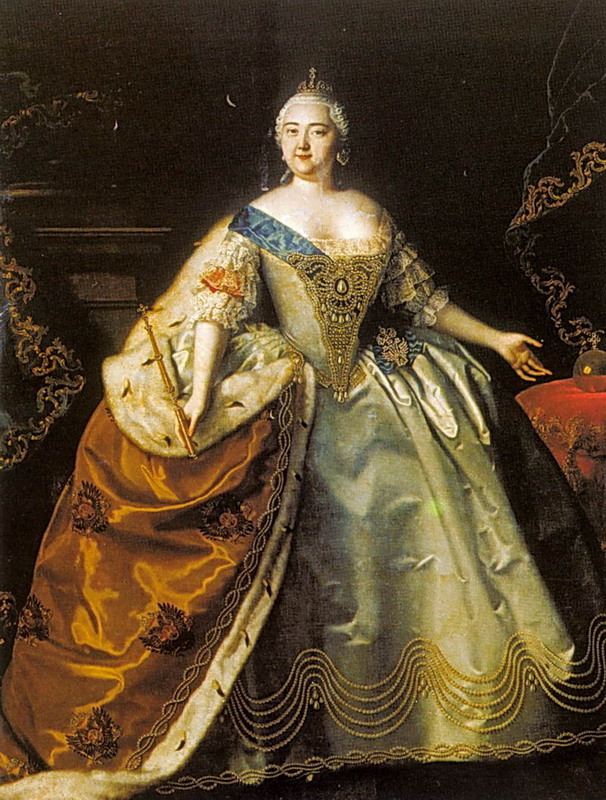 Empress Elizabeth by Louis Caravaque (location unknown togogm)