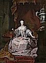 1744 or later Empress Maria-Theresia by Matthias de Visch (Groeningemuseum - Bruges, Belgium)