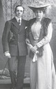 1906 Ena and Alfonso XIII engagement photo