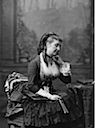 1873 or earlier Eugénie de Montijo seated by Charles Jacotin