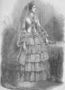 Eugénie's wedding dress