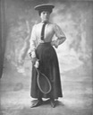 1907 Eulalia dressed for tennis from October issue of Femina