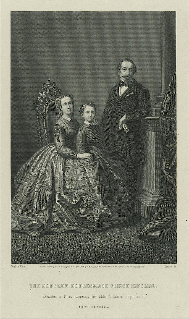 Family print made front photo NYPL