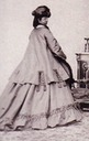 1862 Sissi's dress from the back