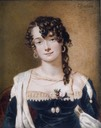 Frances Stuart, Viscountess Sandon (d. 1859), by Alfred Edward Chalon (auctioned by Bonhams)
