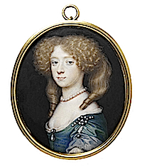 Frances Jennings, Countess of Tyrconnel, sister of Sarah, Duchess of Marlborough attributed to Richard Gibson (Victoria and Albert Museum - London UK) lisby1's photostream on flickr