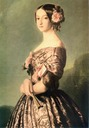 1846-1847 Princess of Joinville by Franz Xaver Winterhalter (Versailes) bodice and face